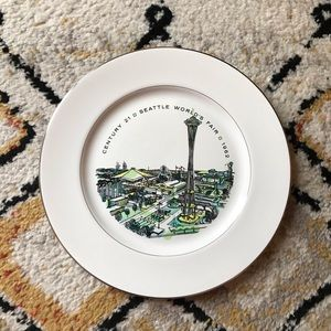 Seattle Worlds Fair Decorative Plate